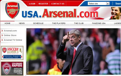 usa arsenal Arsenal Will Tour United States In Future: Could It Be Summer 2011?