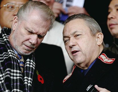 david sullivan david gold1 West Ham United Owners Aim To Take Hammers To New Highs