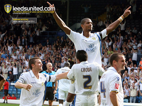 jermaine beckford Jermaine Beckford Earns Leeds United FA Cup Replay Against Spurs