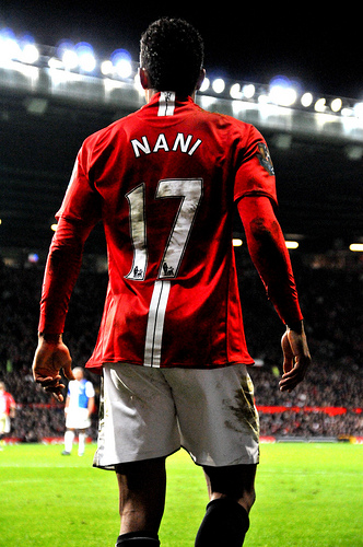 nani1 Arsenal and Man United Match Revealed a Big Difference Between Both Sides