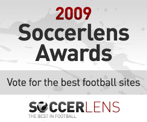 soccerlens awards Vote for EPL Talk In the 2009 Soccerlens Awards