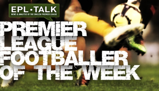 EPL talk Premier League Footballer of the Week, Gameweek 25