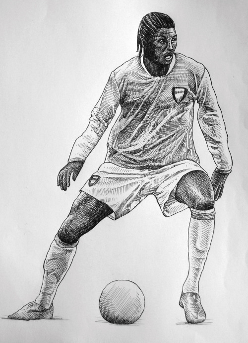 emmanuel adebayor ballpoint drawing small Drawings of Torres, Rooney and Adebayor