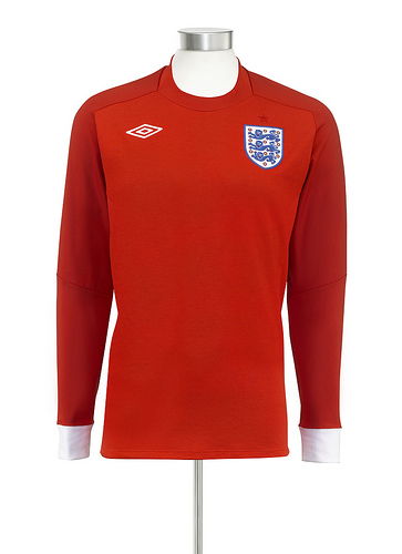 england away soccer shirt England Away Football Shirt for 2010 World Cup Revealed
