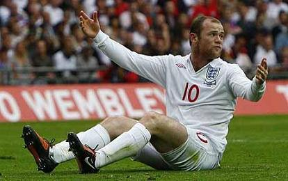 wayne rooney england A Tale of Two Waynes