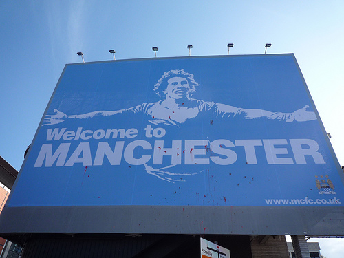 welcome to manchester Power Shift in Manchester For City, Or a Minor Blip for Manchester United?
