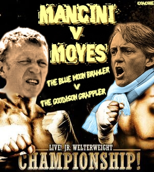Mancini v Moyes Who Would Win in a Real Fight Between David Moyes and Roberto Mancini?