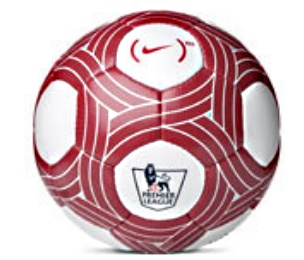 Nike Red EPL Charity Ball Premier League to Use Special Nike Ball This Weekend