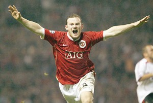 Rooney 300x203 Will Manchester United Beat Bayern Munich Without Wayne Rooney?