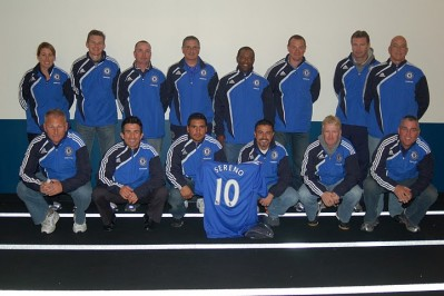 Sereno SC Coaches with Chelsea Jackets1 e1270095148436 Jeff Bookman Interview at MLS Talk