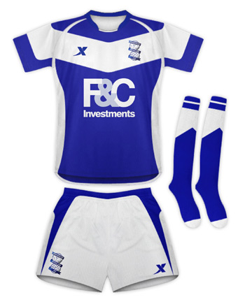birmingham city kit d Birmingham City New 2010 11 Home Kit: Vote Now