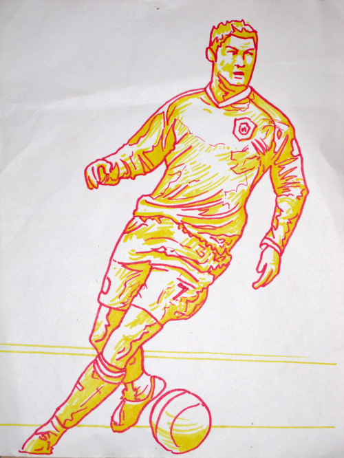 cristiano ronaldo drawing small1 Cristiano Ronaldo, Manchester United: Drawing