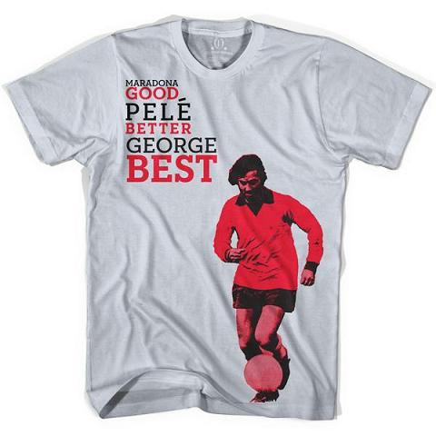 george best objectivo Top 10 Football And Premier League Related T Shirts