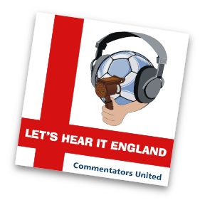 lets hear it england Football Commentators Launch England World Cup Song