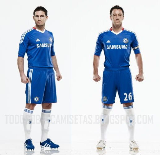 new chelsea home shirt 2010 11 Chelsea Home Shirt For 2010 11 Season Revealed: Photo