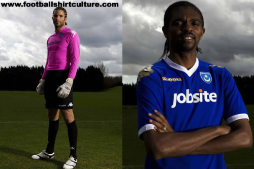 portsmouth 2010 kappa home kit 1 Portsmouth's Special One Off Kit For FA Cup Semi Final Revealed