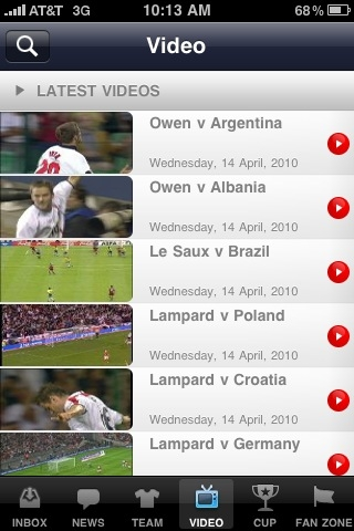 England App 3 EPL Talk Product Review: The Official England App