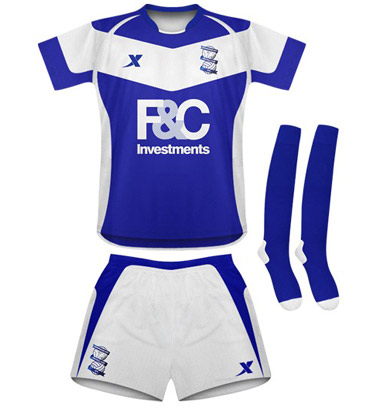 birmingham city home kit Birmingham City Home Football Kit 2010 11 Season: Revealed
