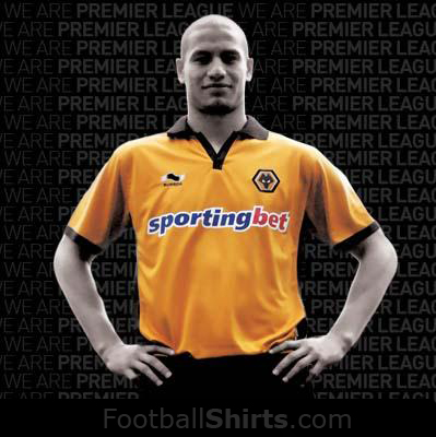 wolves new home shirt Wolverhampton Wanderers Home Shirt for 2010 11 Season: Photo