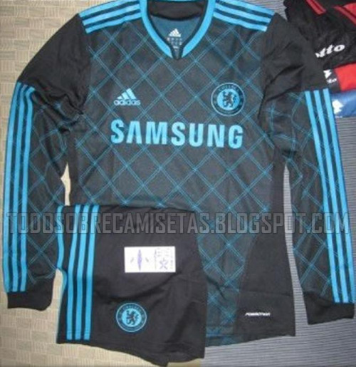 chelsea third shirt1 Chelsea Third Shirt for 2010 11 Season: Leaked Photo