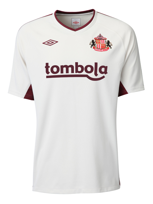sunderland away jersey 2010 2011 Sunderland Away Jersey for 2010 11 Season: Photo
