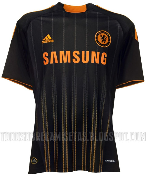 Chelseacentral Chelsea Officially Launches Away Shirt for 2010 11 Season: Photos