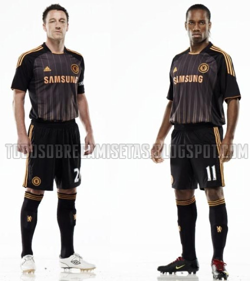 Chelseaplayers Chelsea Officially Launches Away Shirt for 2010 11 Season: Photos