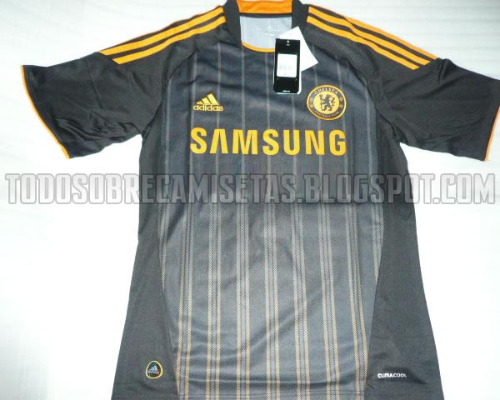 chelsea away shirt Chelsea Away Jersey for 2010 11 Season: Leaked Photos
