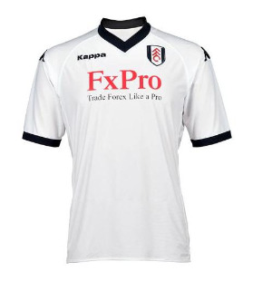 fulham home shirt front1 Best and Worst Premier League Shirt Designs of 2010 11 Season