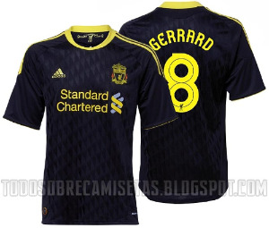 liverpool third Best and Worst Premier League Shirt Designs of 2010 11 Season