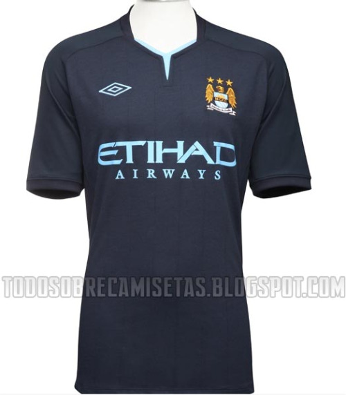 beedbf962 Man City 10/11 Umbro Away Kit Leaked: Photos - World Soccer Talk