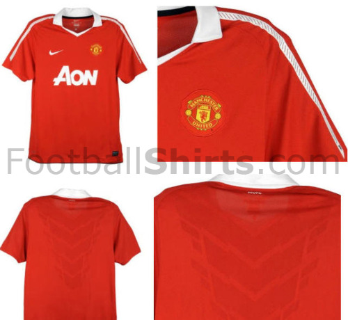 1bde50d0c Man United Home Shirt  New Photos Released for 2010-11 Season ...