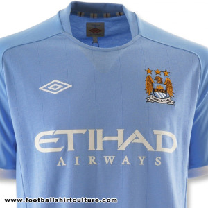 manchester city home shirt Best and Worst Premier League Shirt Designs of 2010 11 Season