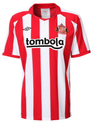 sunderland home jersey1 Best and Worst Premier League Shirt Designs of 2010 11 Season