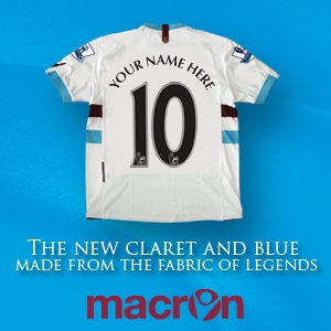 west ham united away shirt West Ham Away Jersey for 2010 11 Season: Sneak Preview Photo
