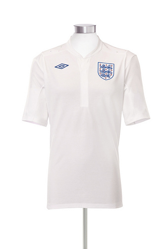 4944847695 fd55c84f51 England Home Shirt, 2011 13: Tailored By Umbro