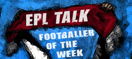 EPLTalk F of the W 2 Premier League Footballer of the Week, Gameweek 9