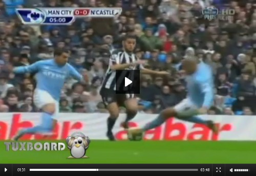 dejong ben arfa tackle Nigel De Jong Breaks Hatem Ben Arfa Leg: Video