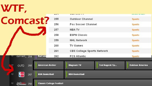 comcast foxsoccer Comcast Cable Commits Fox Soccer Channel Fail