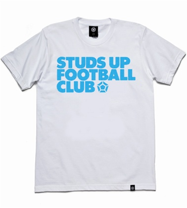 studs up cyan Top 10 Soccer T Shirts