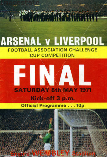 arsenal liverpool 1971 fa cup final programme Tell Fox Soccer Channel Which Clash Of The Giants You Want to Watch