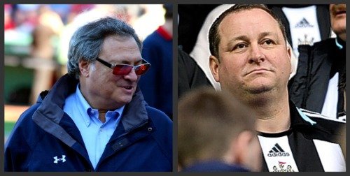 jeffrey loria mike ashley Newcastle's Mike Ashley Is Baseball Owner Jeffrey Loria In Disguise