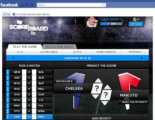 scoreboard Where Will Man United, Chelsea, Arsenal, Man City and Spurs Finish This Premier League Season?