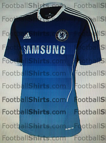chelsea home 2011 2012 Chelsea Home Shirt for 2011 2012 Season: Leaked Photo