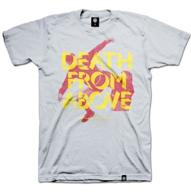death from above tshirt1 16 Years Later, Legend of Eric Cantona's Kung Fu Kick Lives On