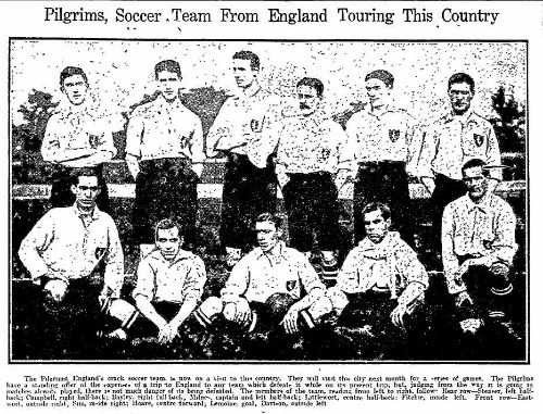 The History of European Soccer Teams Touring North America