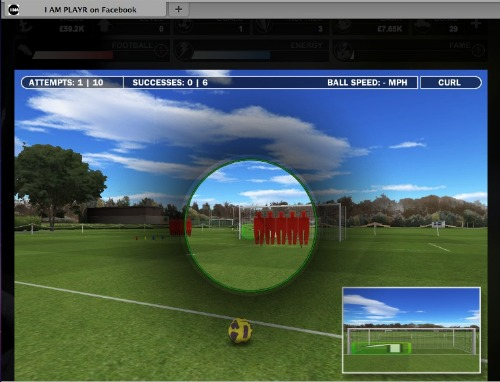 training I AM PLAYR: A New Chapter In Interactive Soccer Games