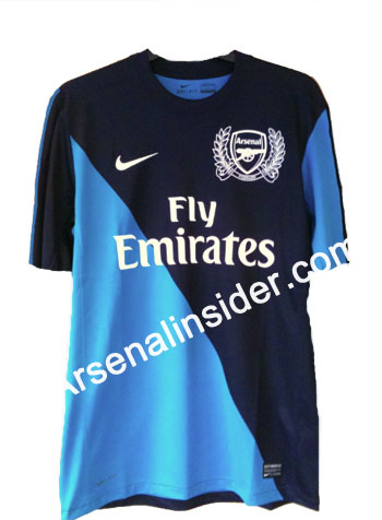 78ddc01582c Arsenal Away Shirt For 2011-12 Season  Photo - World Soccer Talk