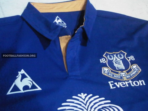 everton home shirt 1 Everton Home Shirt for 2011 2012 Season: Leaked Photos