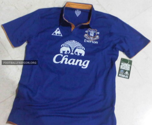 everton home shirt 2 Everton Home Shirt for 2011 2012 Season: Leaked Photos